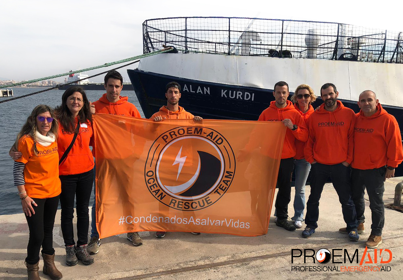 PROEM-AID will sail to the Mediterranean in Alan Kurdi